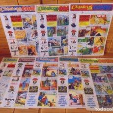Cómics: LOTE CLÁSICOS DEL COMIC. POPEYE. AÑOS 80'S Nº 4, 5, 6, 7, 8, 11, 12 Y 13. BASTANTE BUEN ESTADO. Lote 285615543