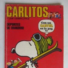 Cómics: CARLITOS Y LOS CEBOLLITAS DEPORTES DE INVIERNO Nº 8 BURU LAN ARX147. Lote 285652978