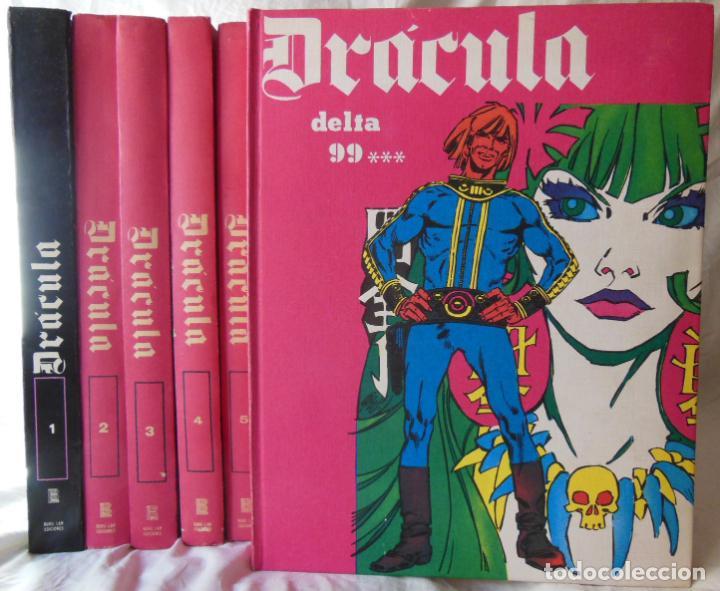 DRACULA 6 VOLUMENES. (Tebeos y Comics - Buru-Lan - Otros)