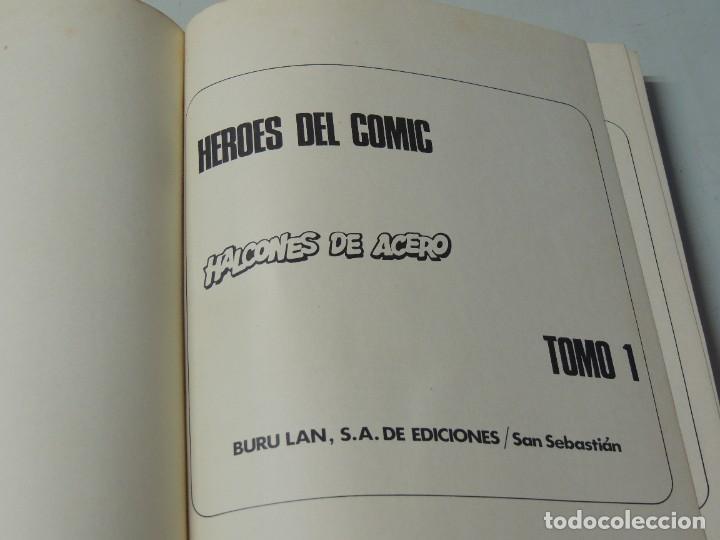Cómics: HALCONES DE ACERO. 2 TOMOS COMPLETA - BURU LAN 1974 .-JOHN DIXON - Foto 2 - 286167478