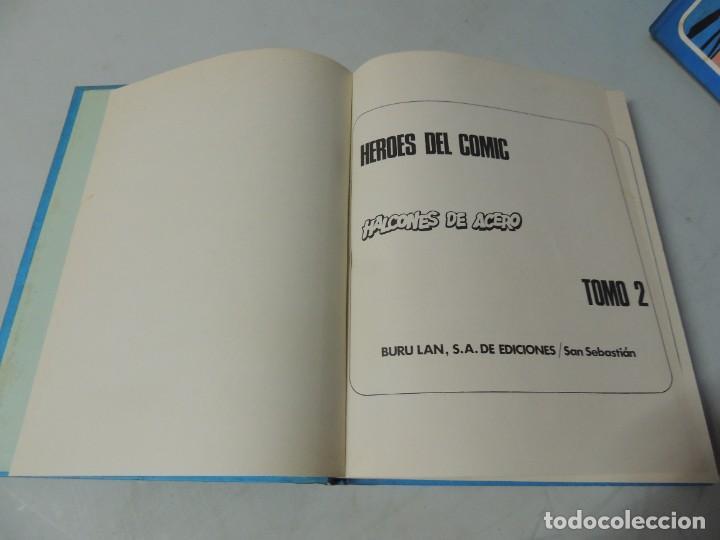 Cómics: HALCONES DE ACERO. 2 TOMOS COMPLETA - BURU LAN 1974 .-JOHN DIXON - Foto 9 - 286167478