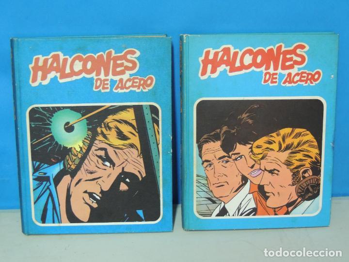 HALCONES DE ACERO. 2 TOMOS COMPLETA - BURU LAN 1974 .-JOHN DIXON (Tebeos y Comics - Buru-Lan - Halcones de Acero)