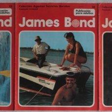 Cómics: JAMES BOND / Nº 13-14-15 / COLECCIÓN AGENTES SECRETOS BURULAN - REF.151. Lote 286468613