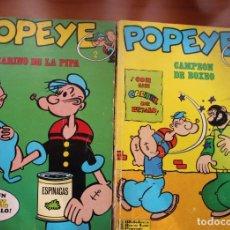 Cómics: LOTE 2 COMICS DE POPEYE (VER FOTOS). Lote 286492968