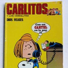 Cómics: CARLITOS Nº 14, BURU LAN EDICIONES 1972. Lote 286954863