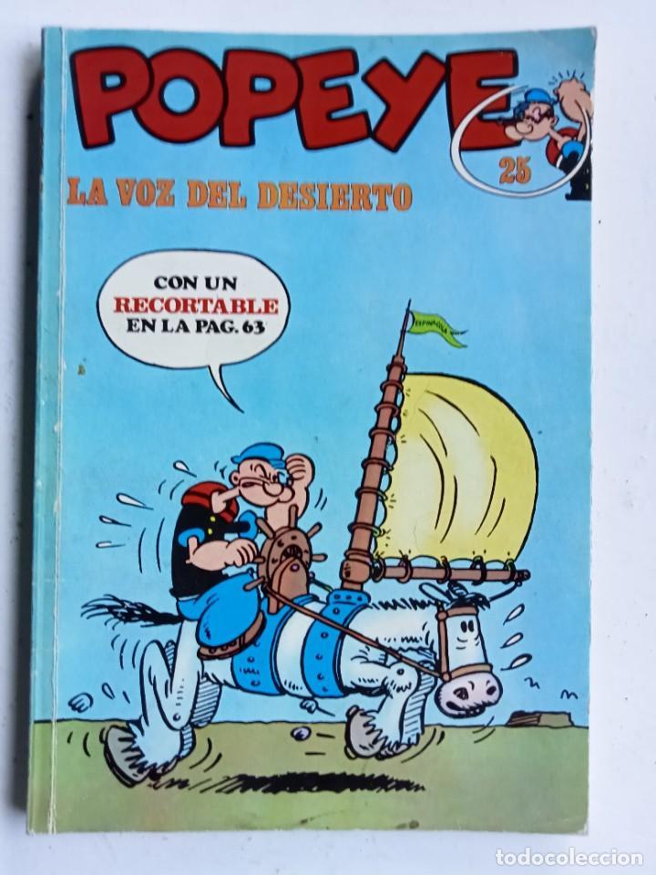 POPEYE Nº 25, BURU LAN EDICIONES 1972 (Tebeos y Comics - Buru-Lan - Popeye)