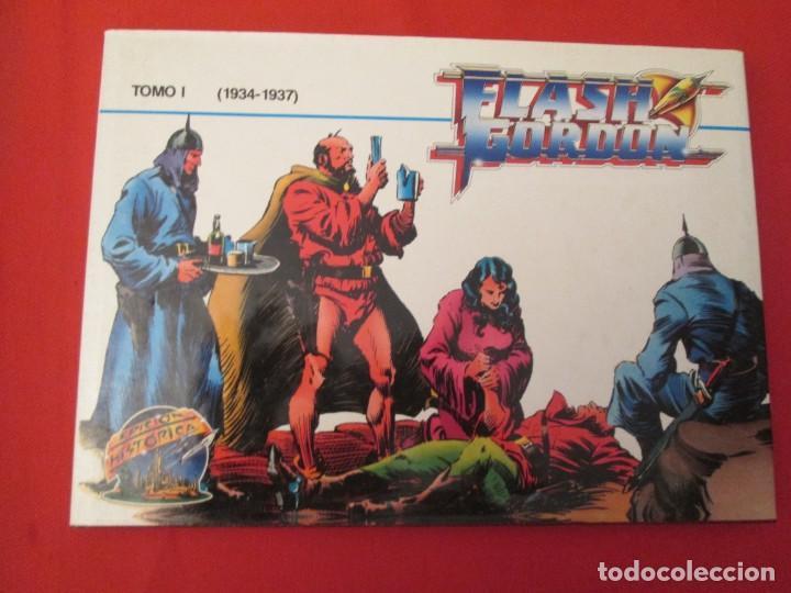 FLASH GORDON EDICION HISTORICA TOMO I (Tebeos y Comics - Buru-Lan - Flash Gordon)