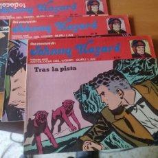 Cómics: LOTE 3 NÚMEROS JOHNNY HAZARD BURU LAN 8,9,10. Lote 287072773