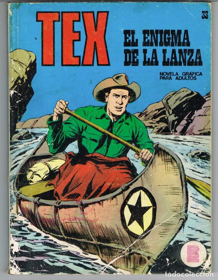 TEX NUMERO 33 EL ENIGMA DE LA LANZA (Tebeos y Comics - Buru-Lan - Tex)