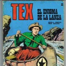Cómics: TEX NUMERO 33 EL ENIGMA DE LA LANZA. Lote 287133038