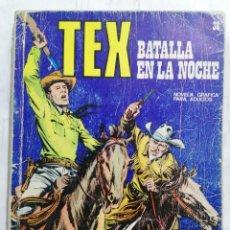 Cómics: TEX, Nº 38, BATALLA EN LA NOCHE. Lote 287425293