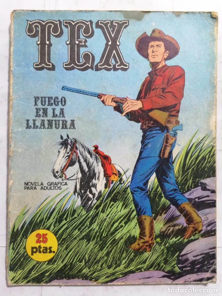 TEX, Nº 17, FUEGO EN LA LLANURA (Tebeos y Comics - Buru-Lan - Tex)