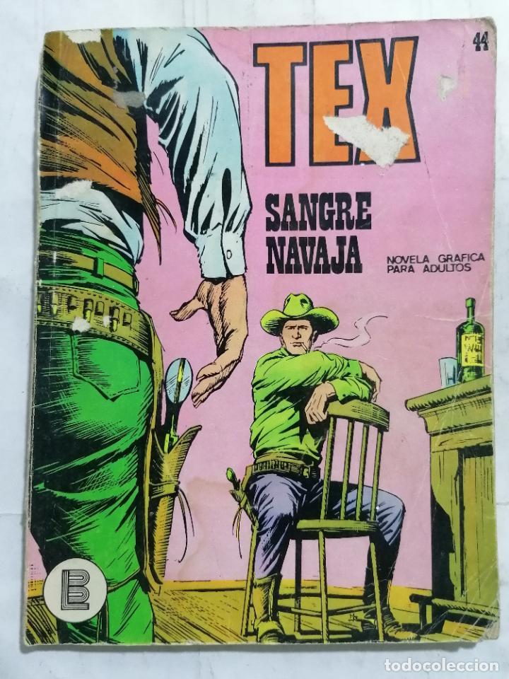 TEX, Nº 44, SANGRE NAVAJA (Tebeos y Comics - Buru-Lan - Tex)