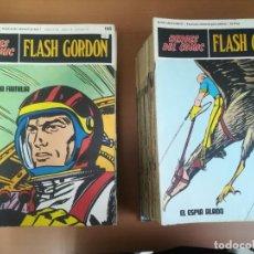 Cómics: FLASH GORDON. BURULAN. GRAN LOTE DE 104 FASCÍCULOS.. Lote 287605043