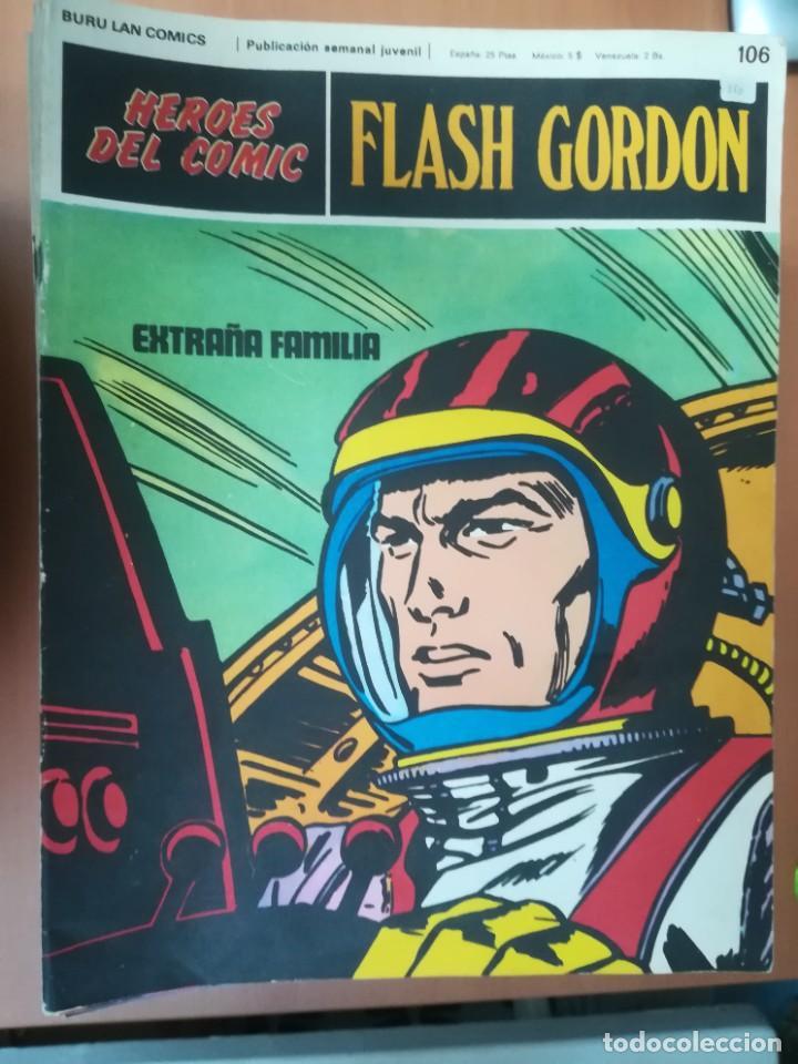 Cómics: FLASH GORDON. BURULAN. GRAN LOTE DE 104 FASCÍCULOS. - Foto 7 - 287605043
