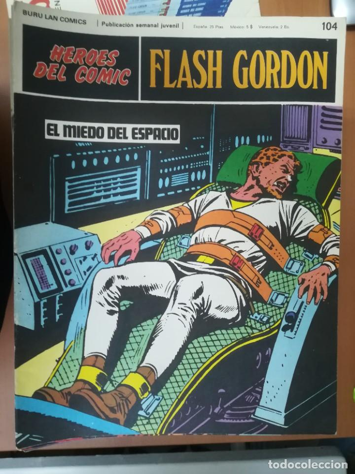 Cómics: FLASH GORDON. BURULAN. GRAN LOTE DE 104 FASCÍCULOS. - Foto 8 - 287605043