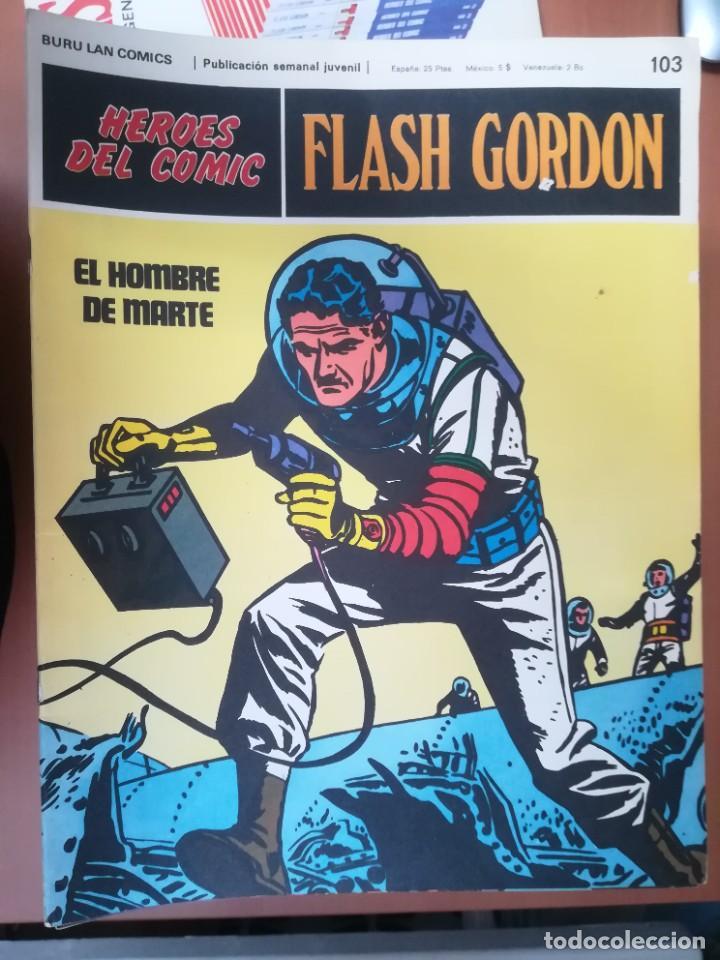Cómics: FLASH GORDON. BURULAN. GRAN LOTE DE 104 FASCÍCULOS. - Foto 9 - 287605043