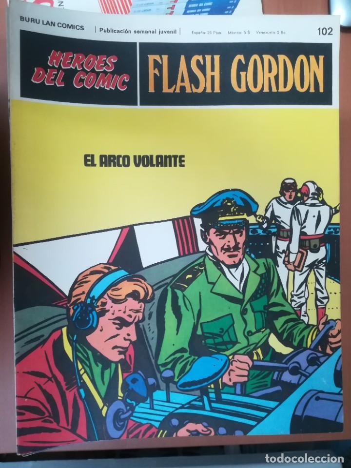 Cómics: FLASH GORDON. BURULAN. GRAN LOTE DE 104 FASCÍCULOS. - Foto 10 - 287605043