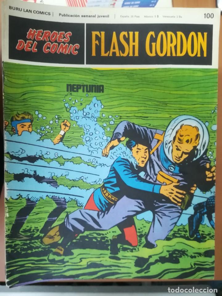Cómics: FLASH GORDON. BURULAN. GRAN LOTE DE 104 FASCÍCULOS. - Foto 11 - 287605043