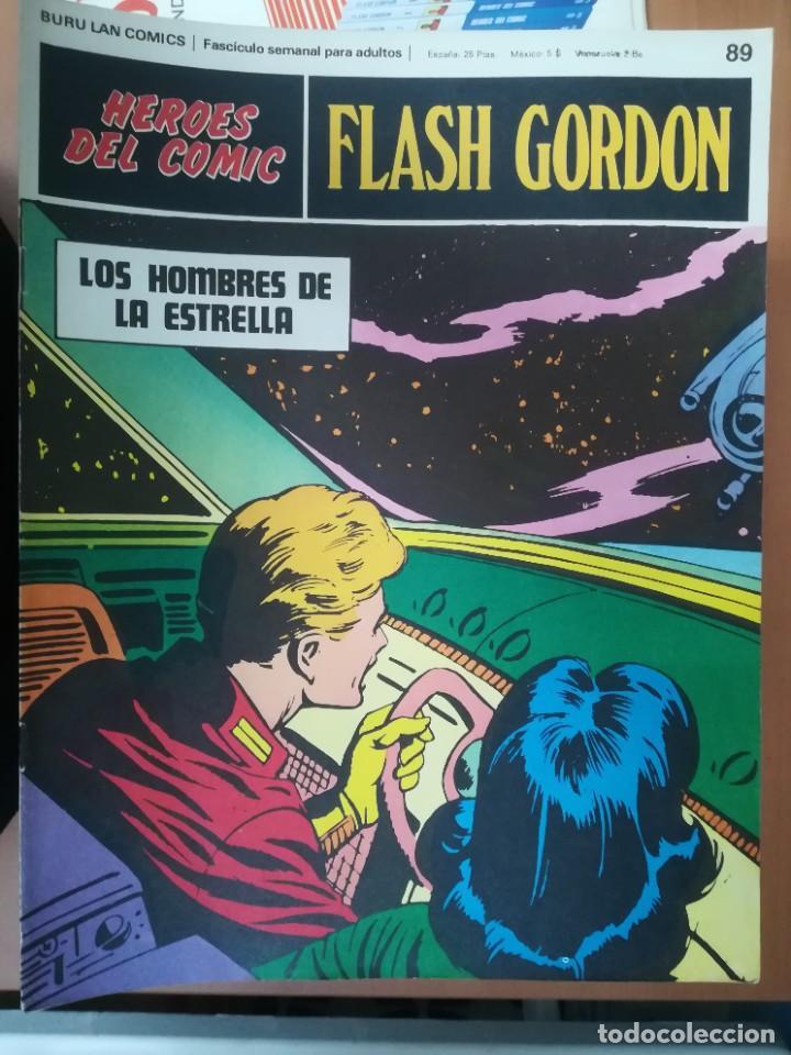 Cómics: FLASH GORDON. BURULAN. GRAN LOTE DE 104 FASCÍCULOS. - Foto 12 - 287605043