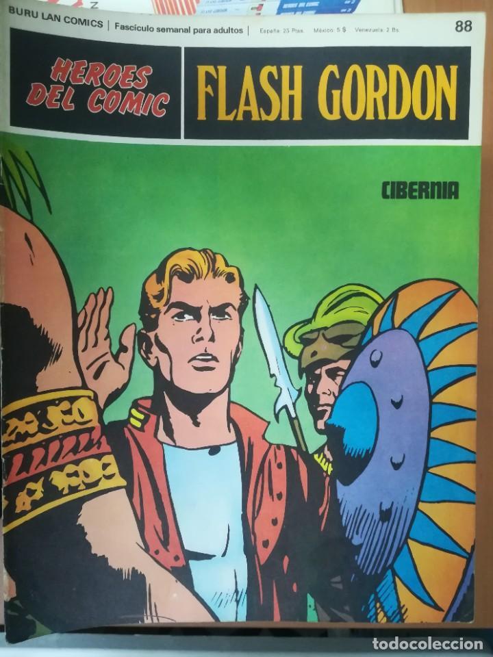 Cómics: FLASH GORDON. BURULAN. GRAN LOTE DE 104 FASCÍCULOS. - Foto 13 - 287605043