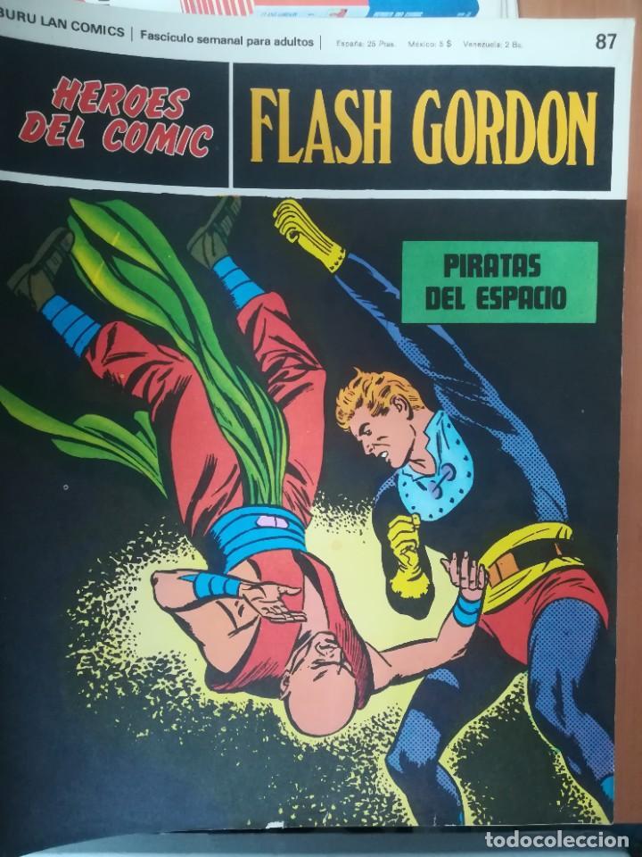 Cómics: FLASH GORDON. BURULAN. GRAN LOTE DE 104 FASCÍCULOS. - Foto 14 - 287605043