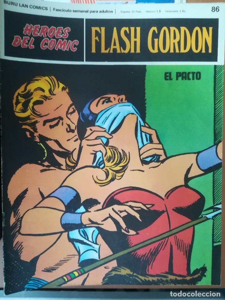Cómics: FLASH GORDON. BURULAN. GRAN LOTE DE 104 FASCÍCULOS. - Foto 15 - 287605043