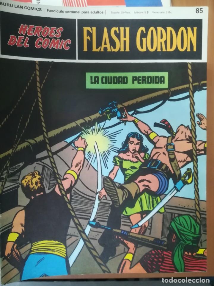 Cómics: FLASH GORDON. BURULAN. GRAN LOTE DE 104 FASCÍCULOS. - Foto 16 - 287605043