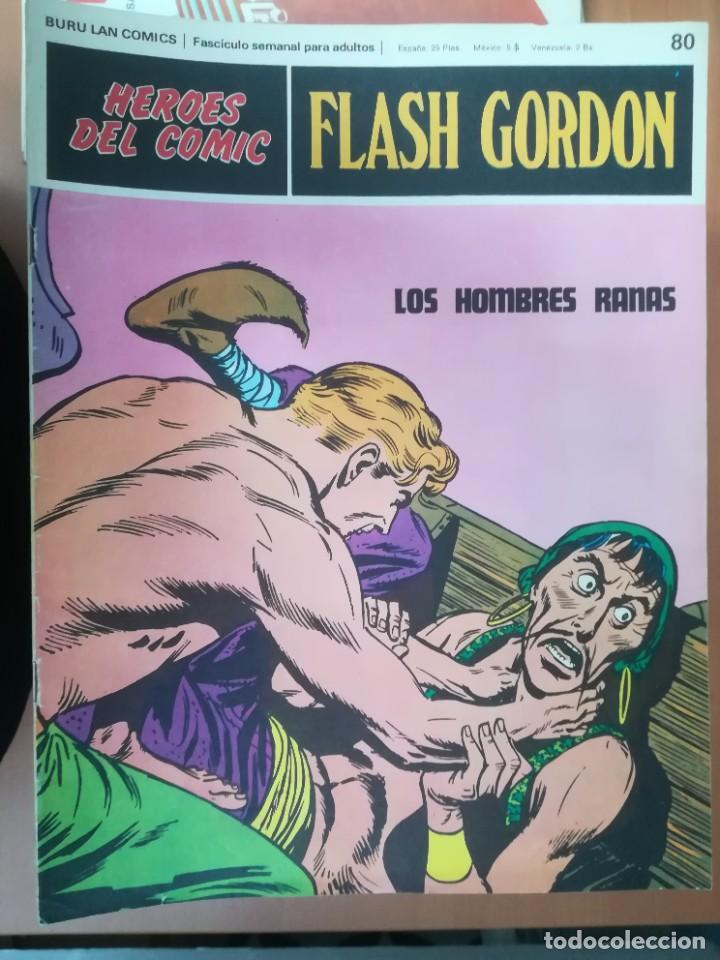 Cómics: FLASH GORDON. BURULAN. GRAN LOTE DE 104 FASCÍCULOS. - Foto 18 - 287605043