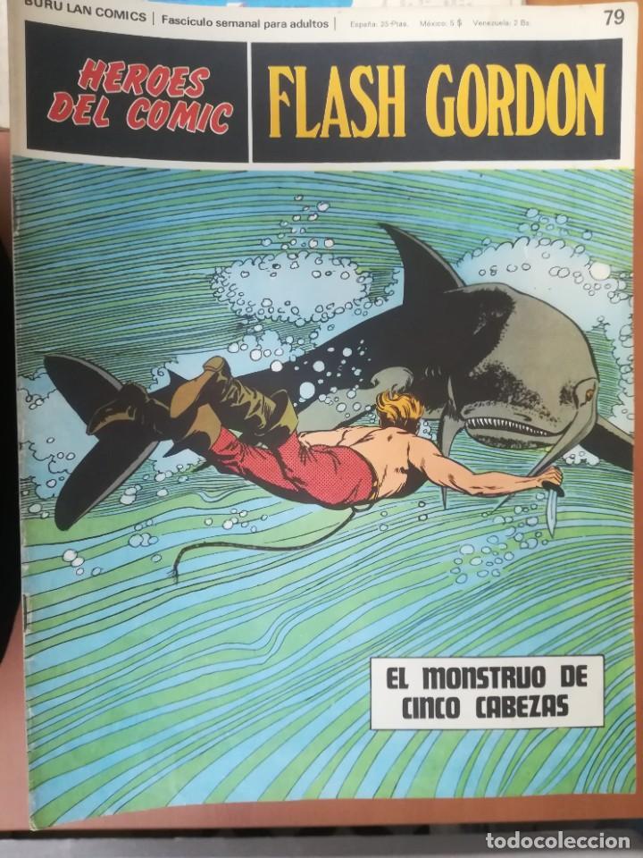 Cómics: FLASH GORDON. BURULAN. GRAN LOTE DE 104 FASCÍCULOS. - Foto 19 - 287605043
