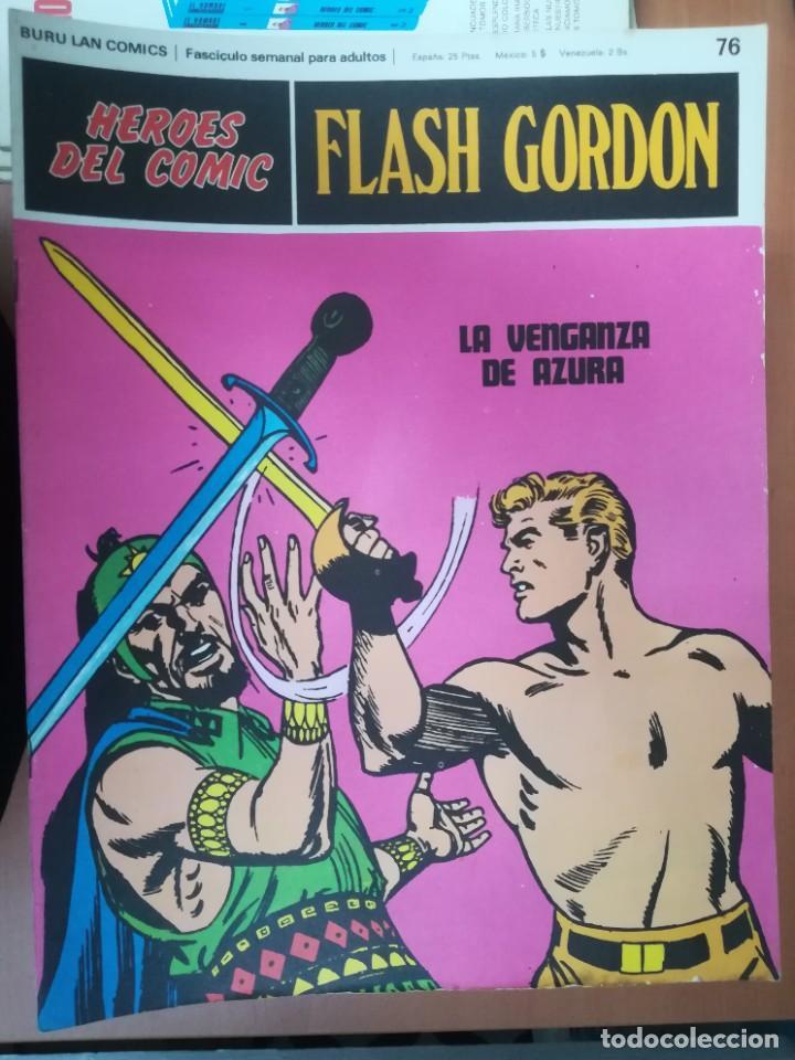 Cómics: FLASH GORDON. BURULAN. GRAN LOTE DE 104 FASCÍCULOS. - Foto 21 - 287605043