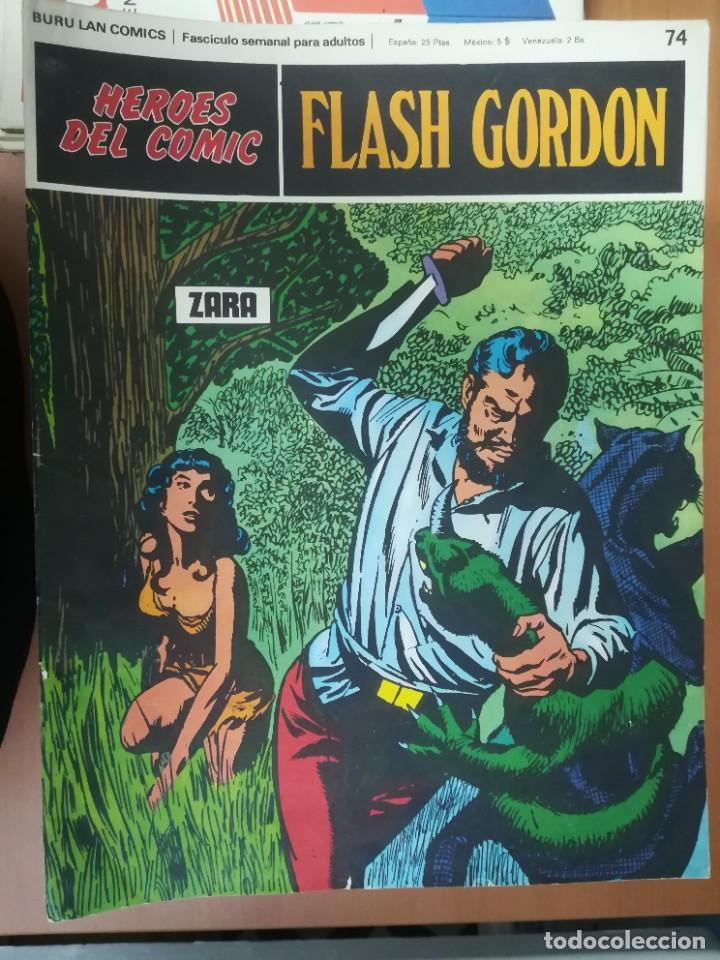 Cómics: FLASH GORDON. BURULAN. GRAN LOTE DE 104 FASCÍCULOS. - Foto 22 - 287605043
