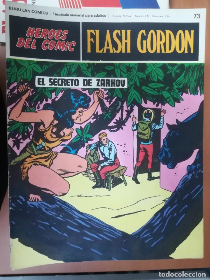 Cómics: FLASH GORDON. BURULAN. GRAN LOTE DE 104 FASCÍCULOS. - Foto 23 - 287605043