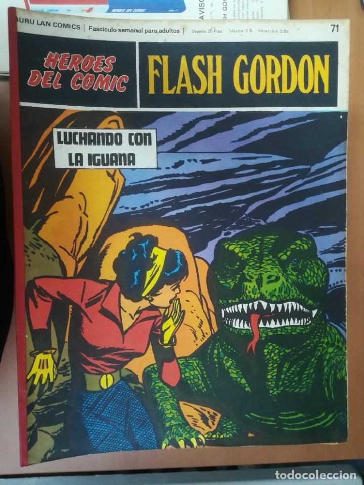 Cómics: FLASH GORDON. BURULAN. GRAN LOTE DE 104 FASCÍCULOS. - Foto 24 - 287605043
