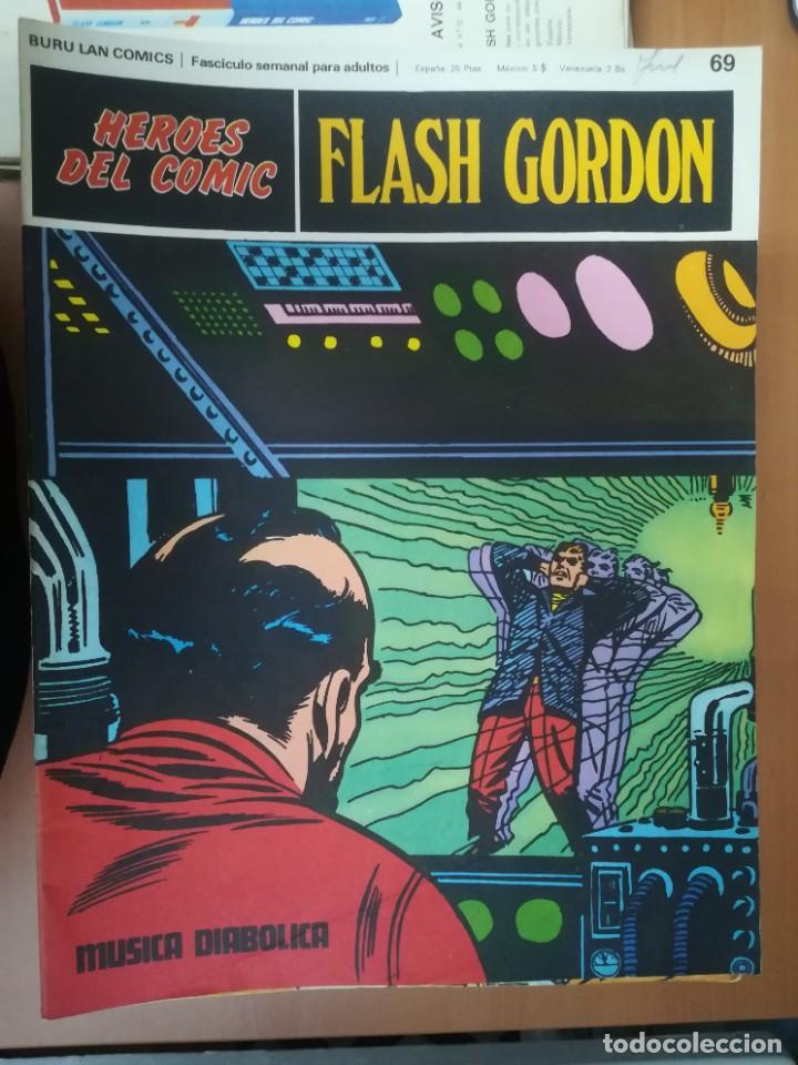 Cómics: FLASH GORDON. BURULAN. GRAN LOTE DE 104 FASCÍCULOS. - Foto 25 - 287605043