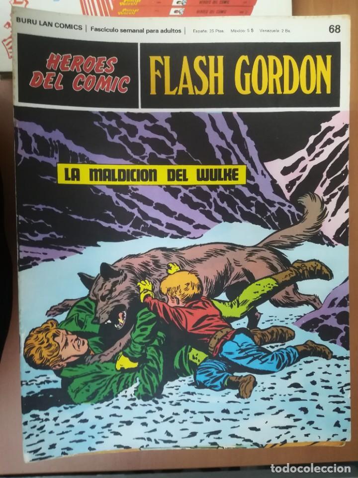 Cómics: FLASH GORDON. BURULAN. GRAN LOTE DE 104 FASCÍCULOS. - Foto 26 - 287605043