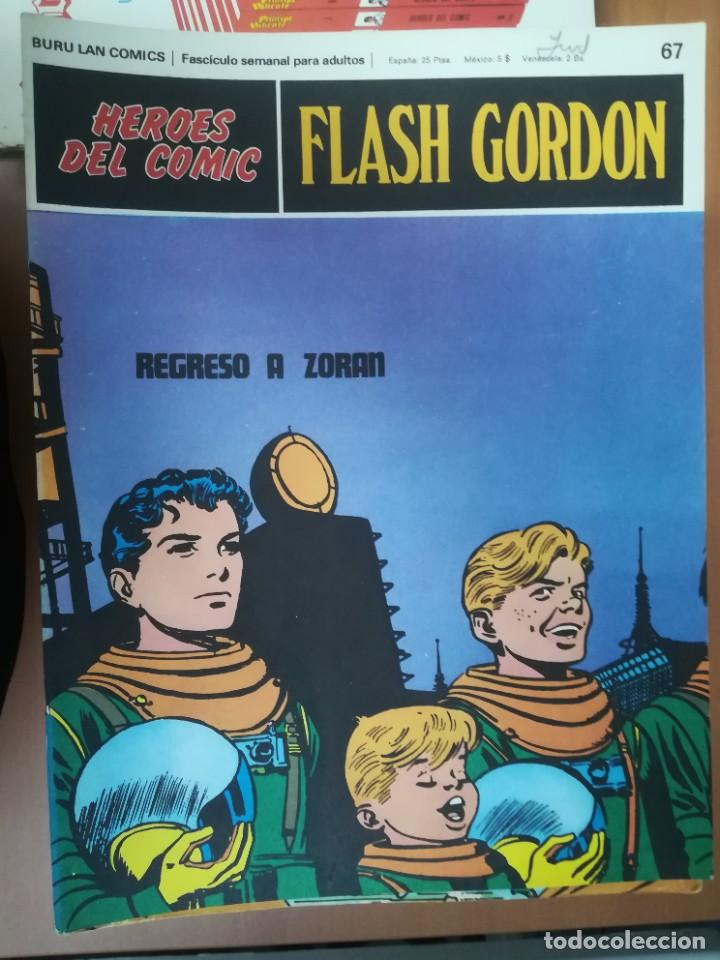 Cómics: FLASH GORDON. BURULAN. GRAN LOTE DE 104 FASCÍCULOS. - Foto 27 - 287605043
