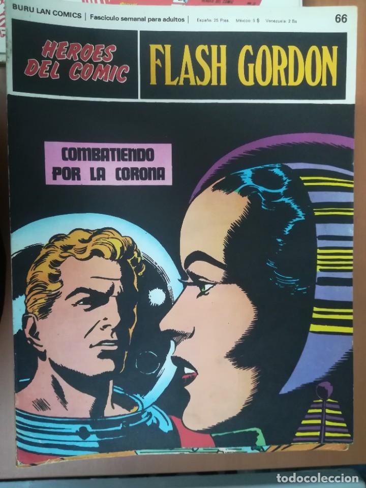 Cómics: FLASH GORDON. BURULAN. GRAN LOTE DE 104 FASCÍCULOS. - Foto 28 - 287605043