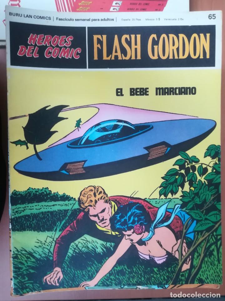 Cómics: FLASH GORDON. BURULAN. GRAN LOTE DE 104 FASCÍCULOS. - Foto 29 - 287605043