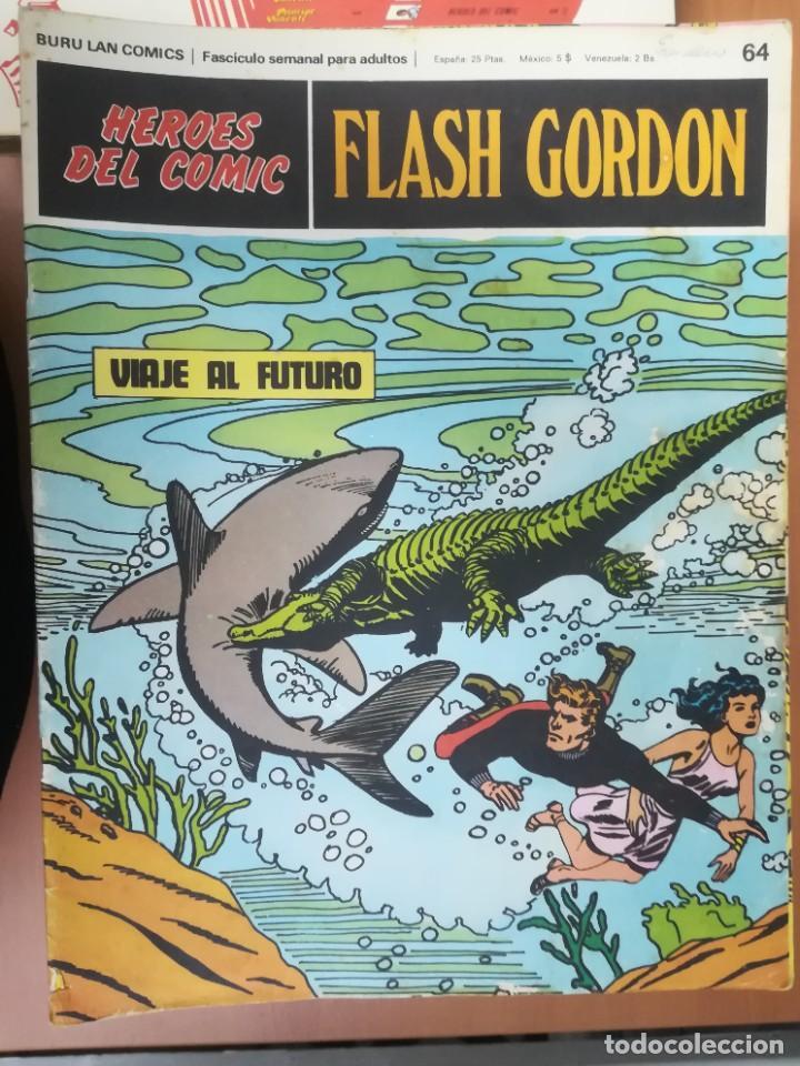 Cómics: FLASH GORDON. BURULAN. GRAN LOTE DE 104 FASCÍCULOS. - Foto 30 - 287605043