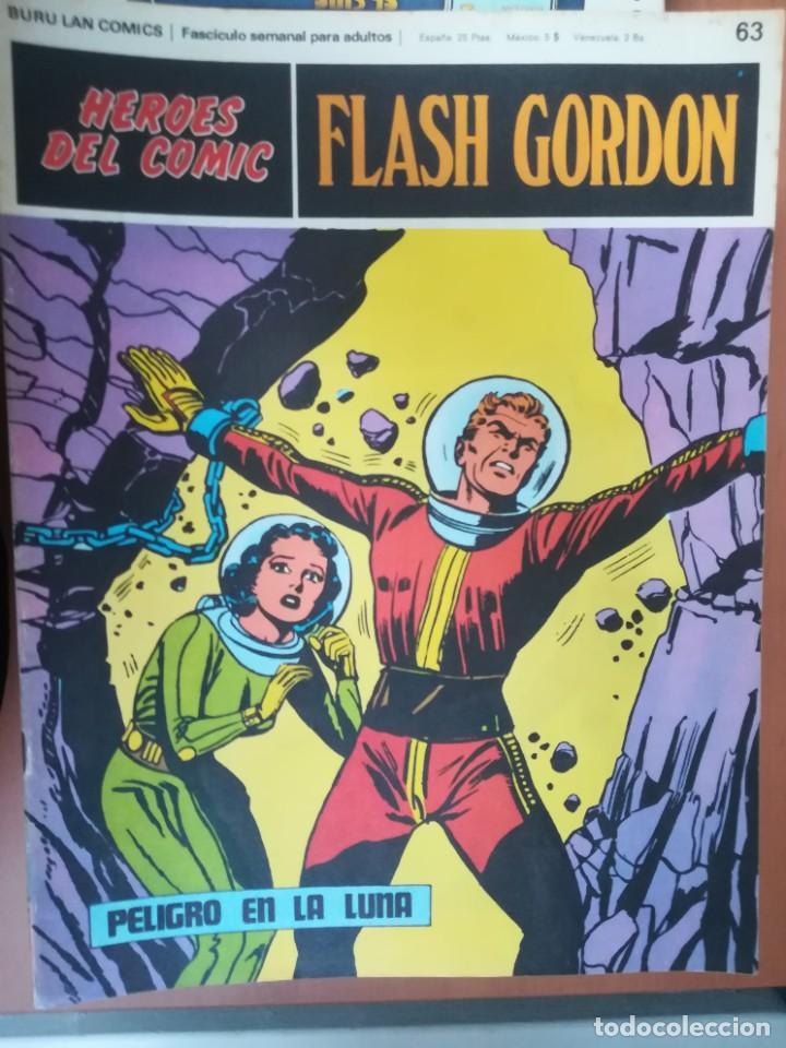 Cómics: FLASH GORDON. BURULAN. GRAN LOTE DE 104 FASCÍCULOS. - Foto 31 - 287605043