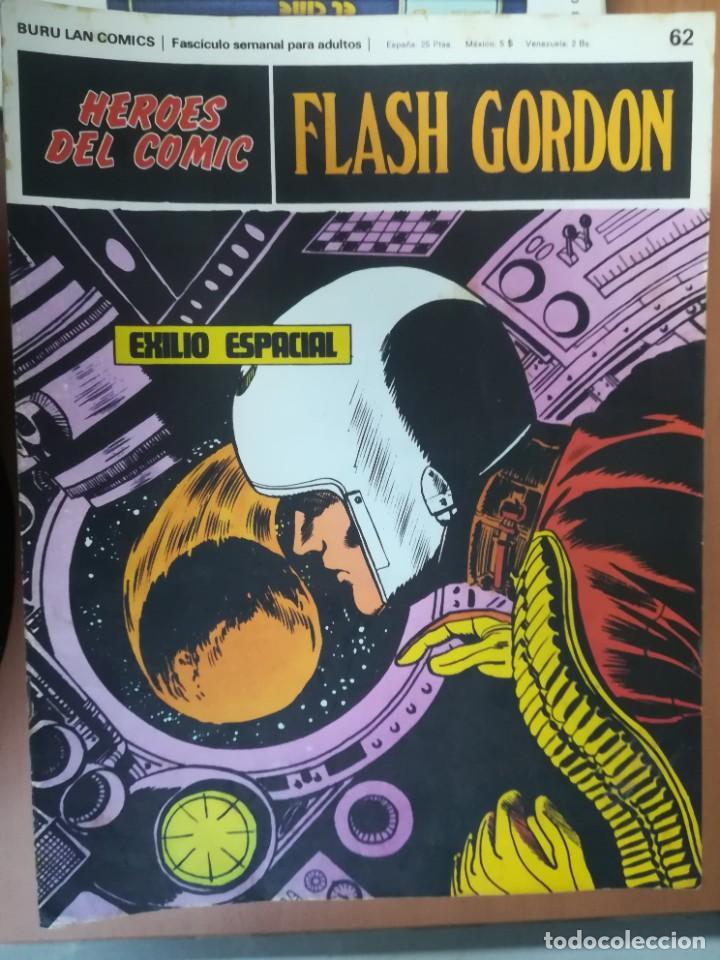 Cómics: FLASH GORDON. BURULAN. GRAN LOTE DE 104 FASCÍCULOS. - Foto 32 - 287605043