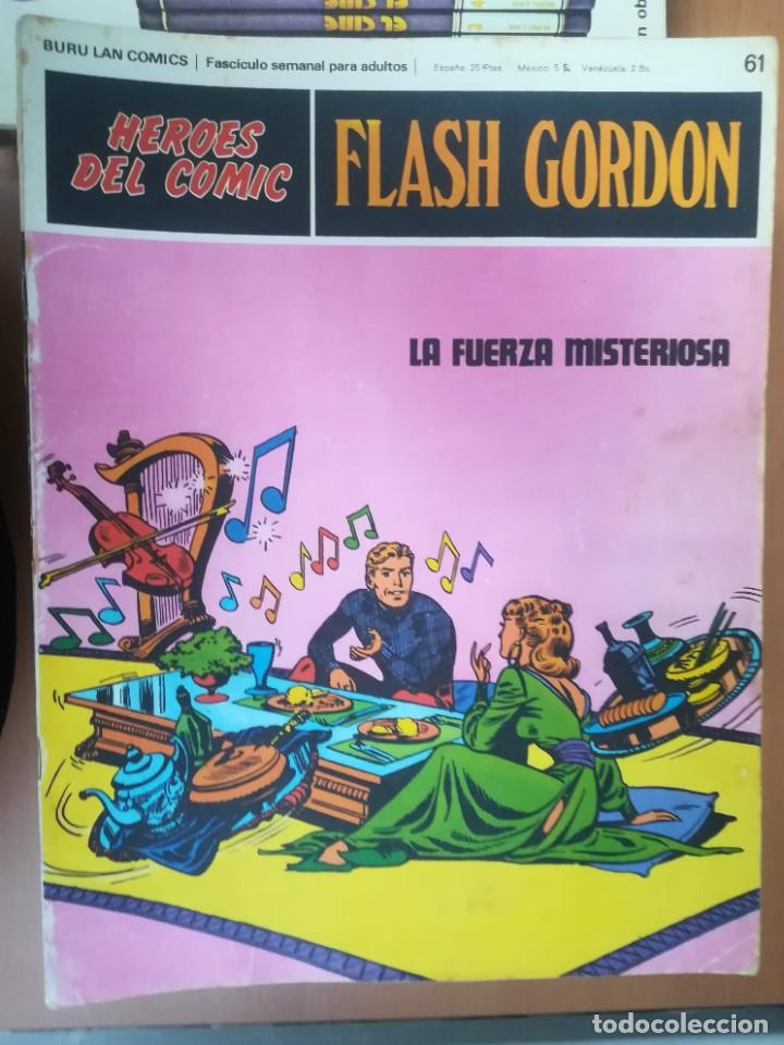 Cómics: FLASH GORDON. BURULAN. GRAN LOTE DE 104 FASCÍCULOS. - Foto 33 - 287605043