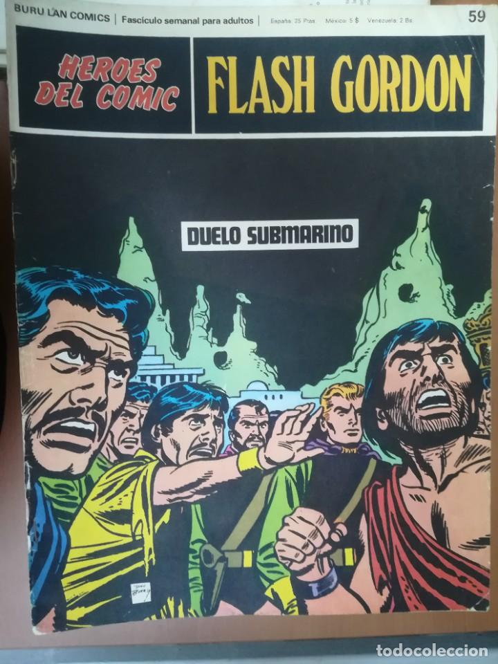 Cómics: FLASH GORDON. BURULAN. GRAN LOTE DE 104 FASCÍCULOS. - Foto 34 - 287605043