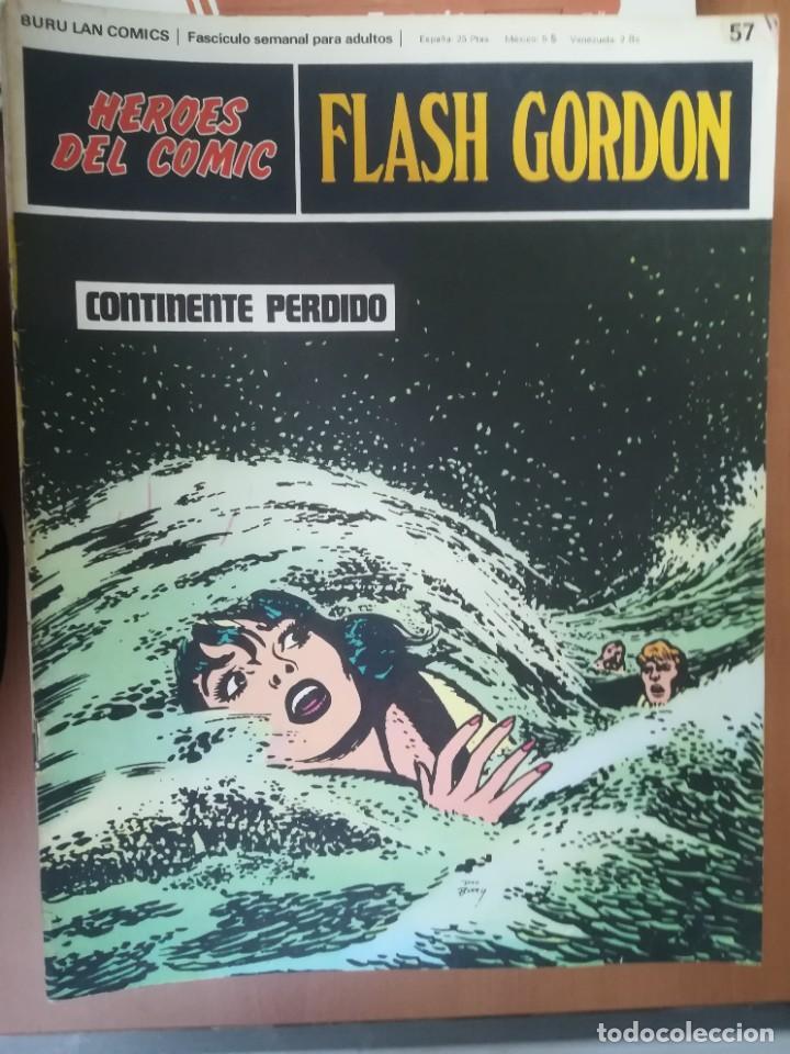 Cómics: FLASH GORDON. BURULAN. GRAN LOTE DE 104 FASCÍCULOS. - Foto 36 - 287605043