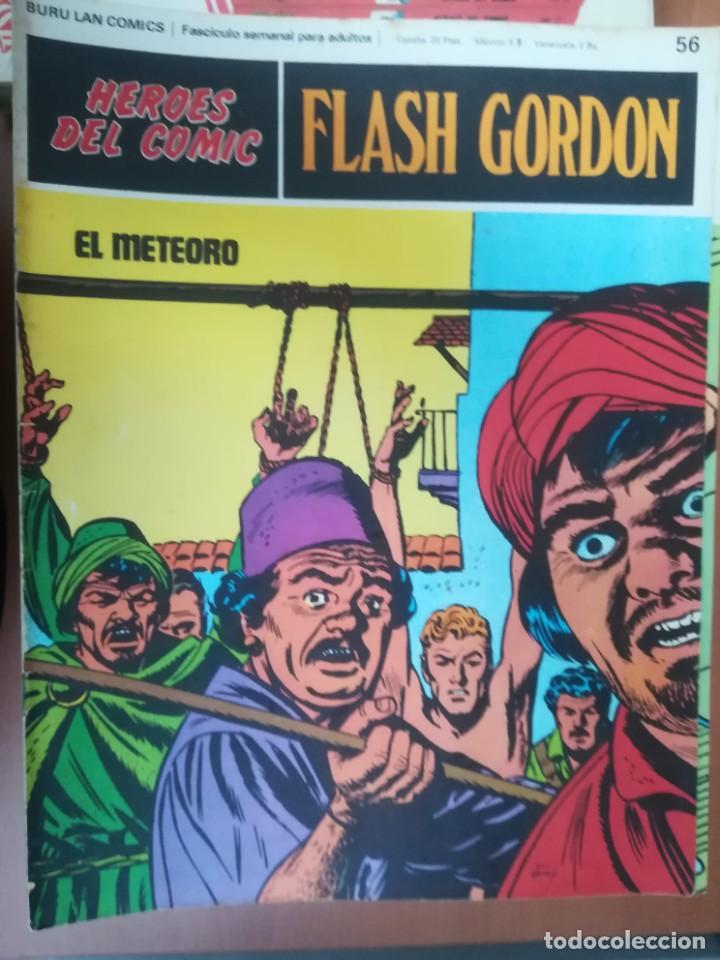 Cómics: FLASH GORDON. BURULAN. GRAN LOTE DE 104 FASCÍCULOS. - Foto 37 - 287605043