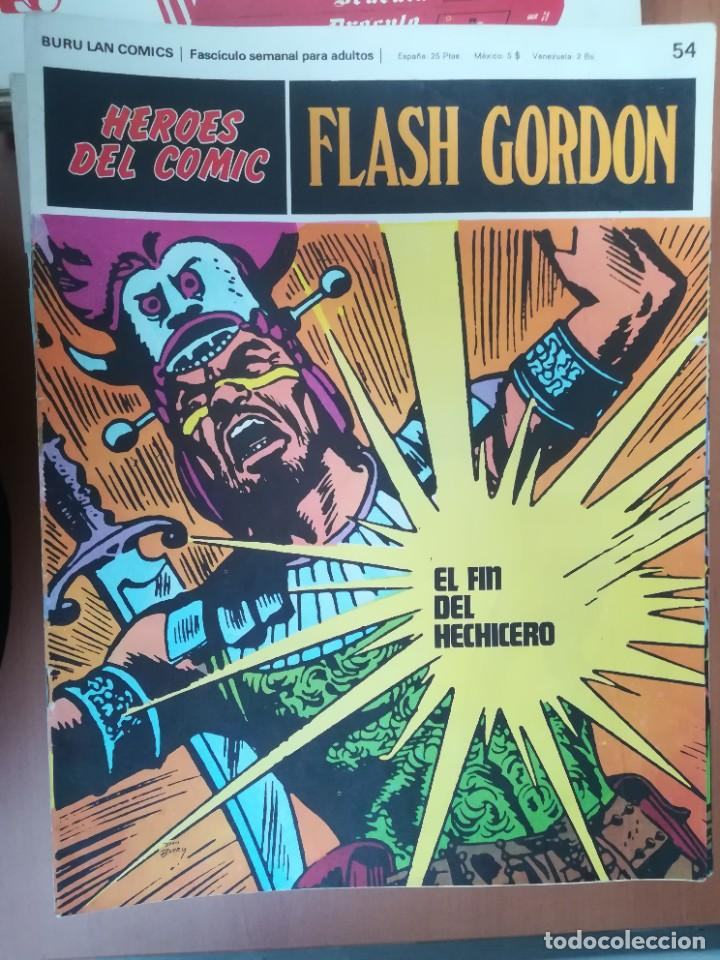 Cómics: FLASH GORDON. BURULAN. GRAN LOTE DE 104 FASCÍCULOS. - Foto 39 - 287605043