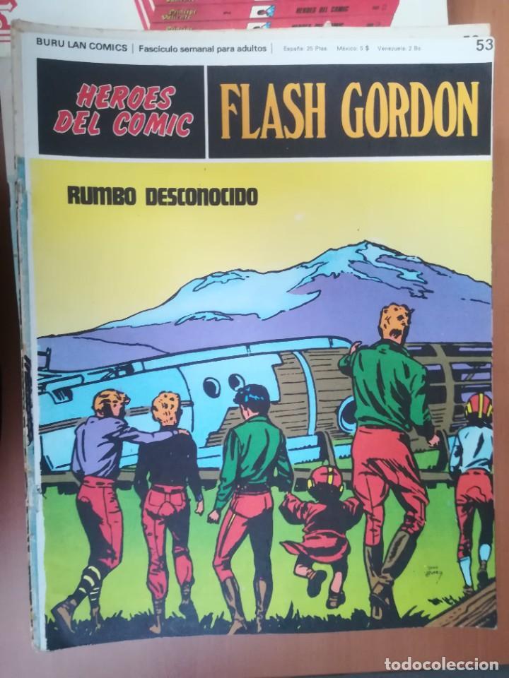 Cómics: FLASH GORDON. BURULAN. GRAN LOTE DE 104 FASCÍCULOS. - Foto 40 - 287605043