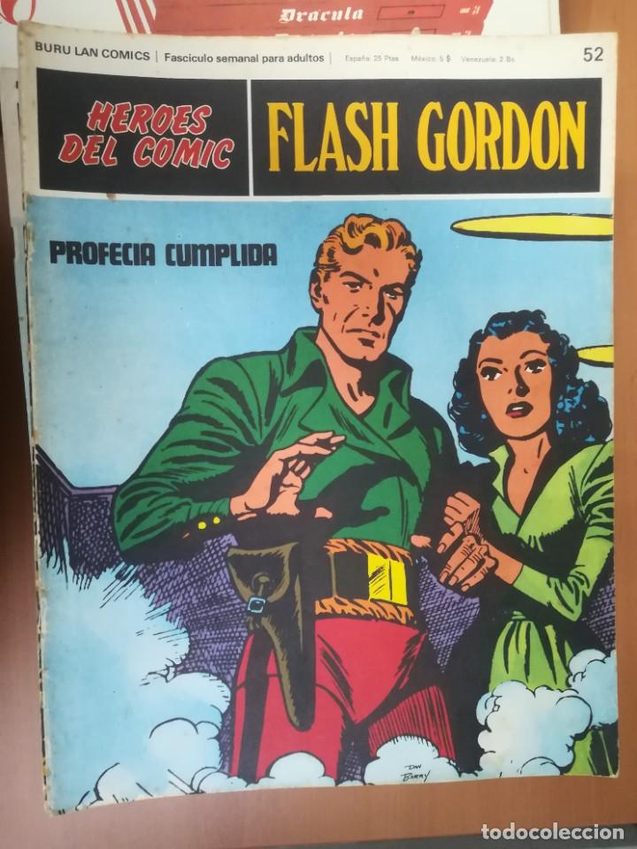 Cómics: FLASH GORDON. BURULAN. GRAN LOTE DE 104 FASCÍCULOS. - Foto 41 - 287605043