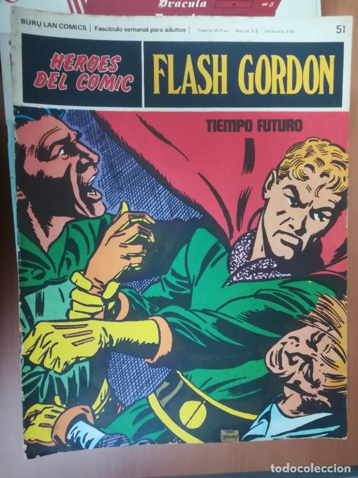 Cómics: FLASH GORDON. BURULAN. GRAN LOTE DE 104 FASCÍCULOS. - Foto 42 - 287605043